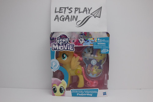 MLP The Movie Series Fluthershy Shinning Friends Light up NIP.