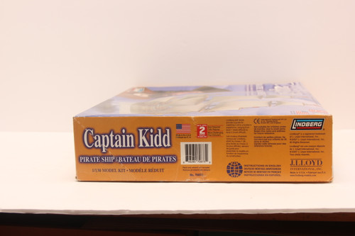 Captain Kidd Pirate Ship Model Kit  By Lindberg 1/130