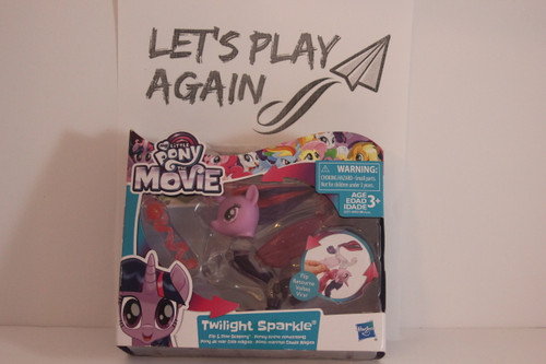 MLP The Movie Series Twilight Sparkle Flip & Flow Seapony NIP.
