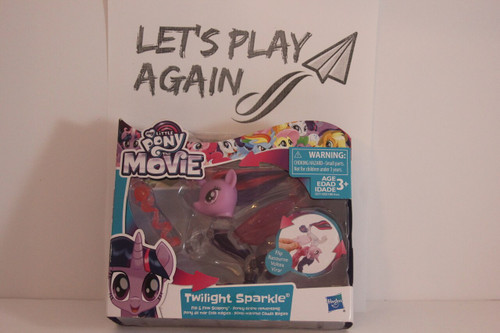 MLP The Movie Series Twilight Sparkle Glitter & Style Seapony NIP.