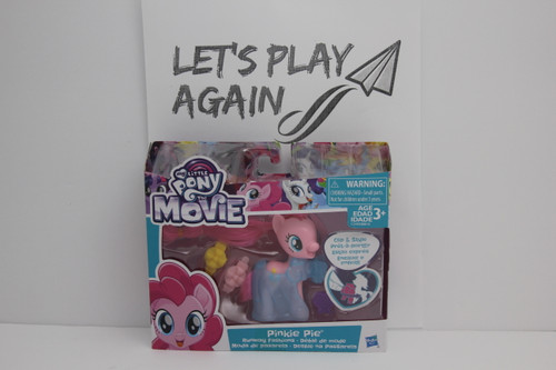 MLP The Movie Pinkie Pie Runaway Fashion NIP.