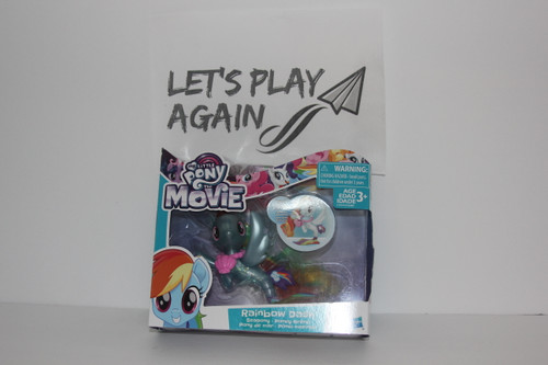 MLP  The Movie Series Rainbow Dash Seapony NIP.