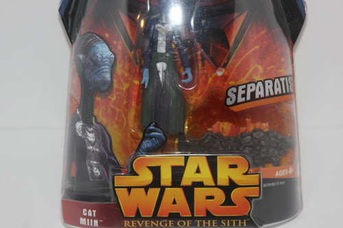 Cat Miin Separatist Star Wars Action Figure from Revenge of the Sith Line NIP