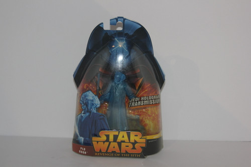 Plo Koon Hologram Star Wars Action Figure from Revenge of the Sith Line NIP