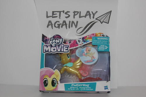 MLP  The Movie Series Fluthershy Seapony NIP.