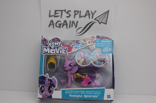 The Movie Series Twilight Sparkle Land and Sea Fashion Styles NIP.