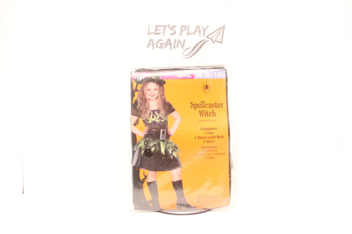 Spellcaster Witch Girl Costume