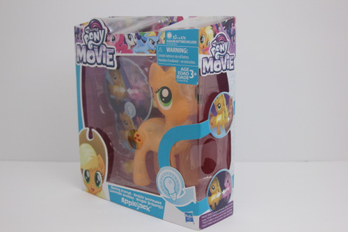 MLP The Movie Series Apple Jack Shinning Friends Light up NIP.