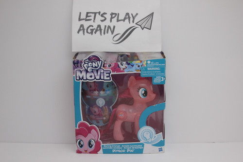 MLP The Movie Series Pinkie Pie Shinning Friends Light up NIP.