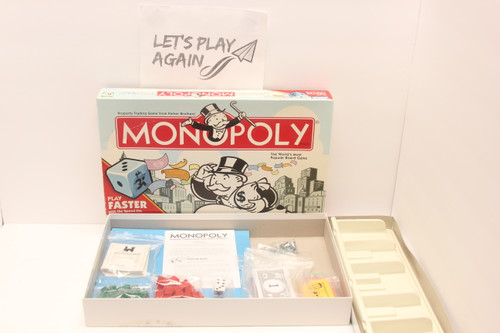 Monopoly Faster Play Edition