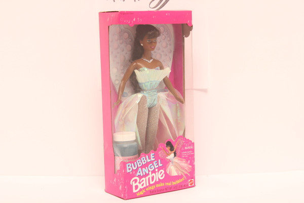 Bubble Angel Barbie African American Doll 1994 Edition