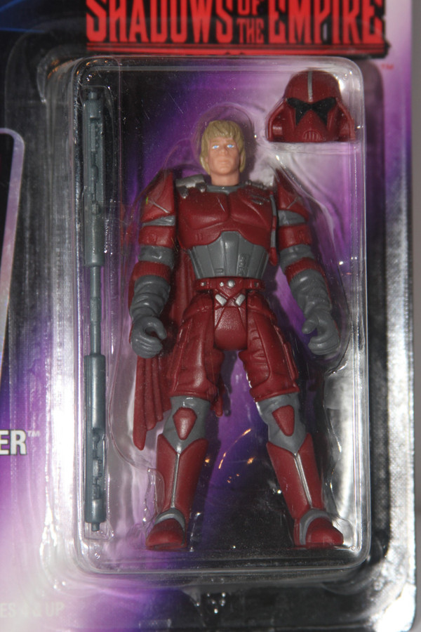 Luke Skywalker in Imperial Guard Disguise Star Wars Action Figure from Shadows of The Empire Line NIP