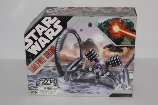 Hail Fire Droid Star Wars  Vehicle From 30th Aniversary Toy Line NIP