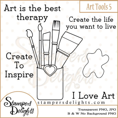 These Craft tools will make some wonderful additions to other stamps or can stand alone making some wonderful projects. 2 Design 3 Sentiments 14 Digital Stamps JPG & PNG formats 300 dpi © 2009 Stampers Delights - Designs by Janice Cullen