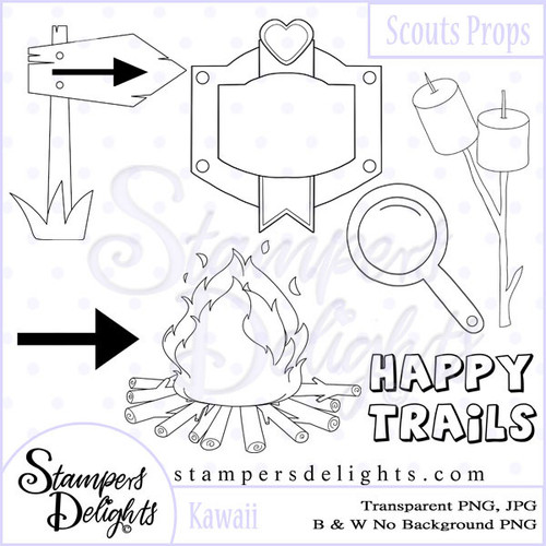 Wonderful  images to create scenes for your projects. Digital Download 6 Design 1 Sentiments 20 Digital Stamps JPG & PNG formats 300 dpi © 2009 Stampers Delights - Designs by Janice Cullen