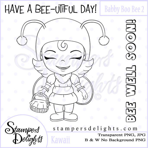 This image would be fabulous for Get Well, spring and feel good projects. Digital Download 1 Design 2 Sentiments 8 Digital Stamps JPG & PNG formats 300 dpi © 2009 Stampers Delights - Designs by Janice Cullen