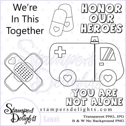 Digital Download 3 Design 3 Sentiments 17 Digital Stamps JPG & PNG formats 300 dpi © 2009 Stampers Delights - Designs by Janice Cullen