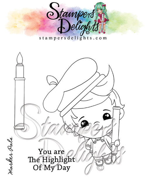 "photo polymer stamp set.  Contains 3 stamps 4 x 4"" set Character is approximately 3"" You Can Sell You Hand made Creations!  ANGEL POLICY ONLY --------------------------------- © 2009 Stampers Delights - Designs by Janice Cullen"