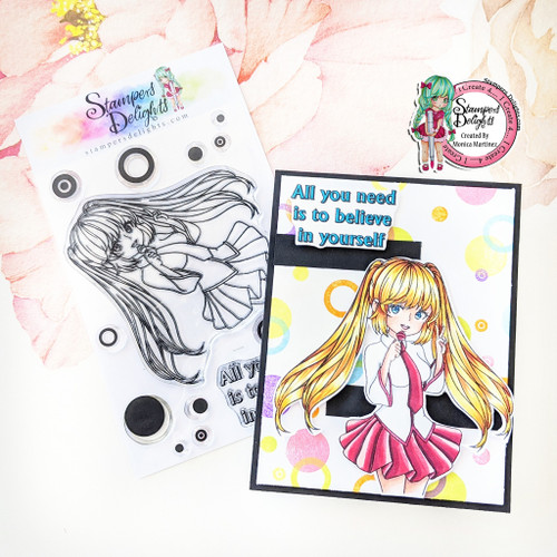 """A6 photo polymer stamp set. Contains 13 stamps 4 x 6"""" A6 set Character is approximately 4"""" You Can Sell You Hand made Creations! ANGEL POLICY ONLY"""