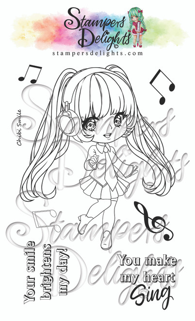 """A6 photo polymer stamp set. Contains 7stamps 4 x 6"""" A6 set Character is approximately 4"""" You Can Sell You Hand made Creations! ANGEL POLICY ONLY"""