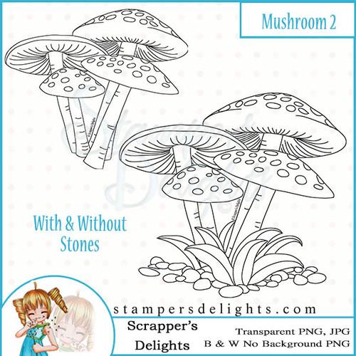 Scrapper's Delights Mushroom 2