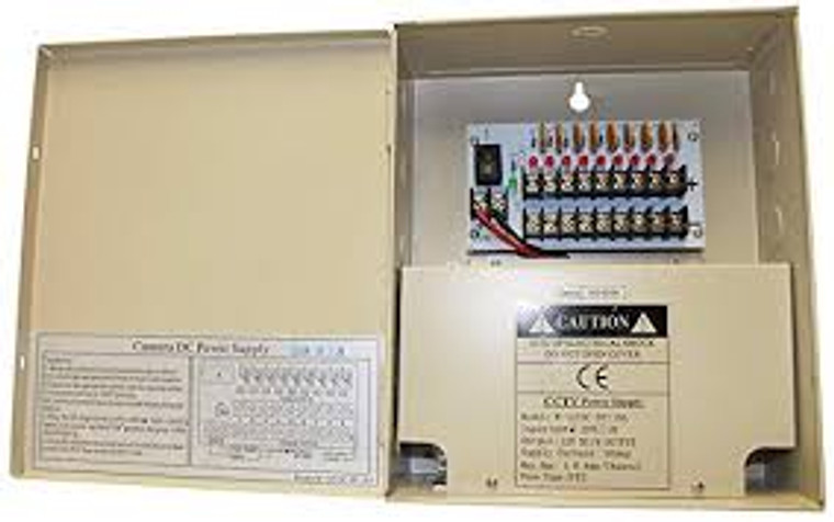 pro grade 9 port power supply box