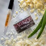 VinoSpa Moisture. Vegan and cruelty free skincare.  Wine skincare.
