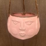Pink Maya Hanging Planter