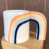 Rainbow Mug Planter