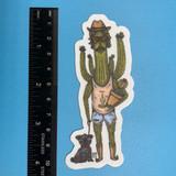 Cactus Daddy sticker
