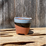 Double Dip Mini Terracotta Bottom Planter