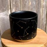 Black & Gold Constellation Planter