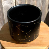 Black & Gold Constellation Planter