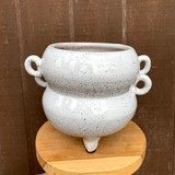 Vanilla Bean Planter with Handles