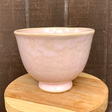 Pink Fluted Planter