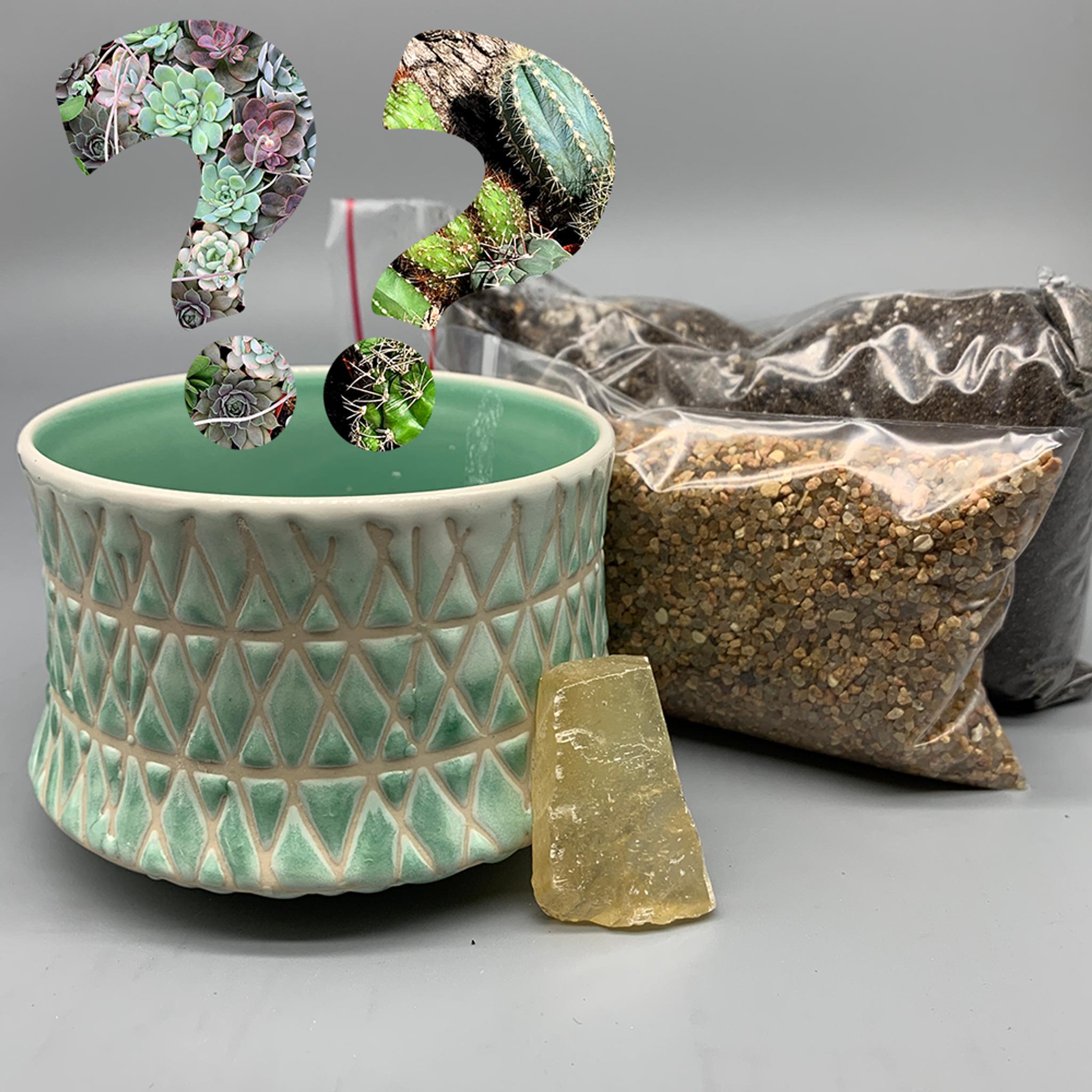 Seafoam Diamond Dish Mystery DIY Kit