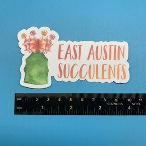 EAS Moon Cactus Sticker