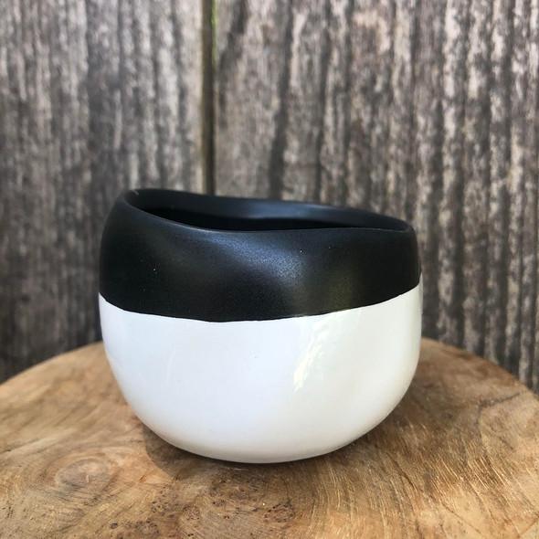 Black & White Mini Dish