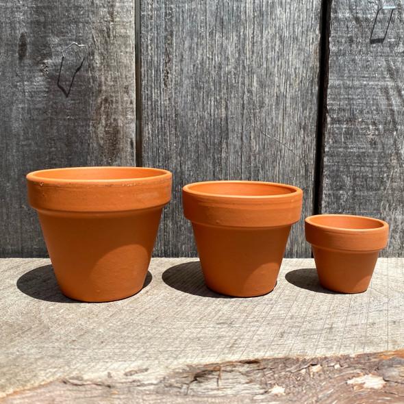 Terracotta Mini Planters