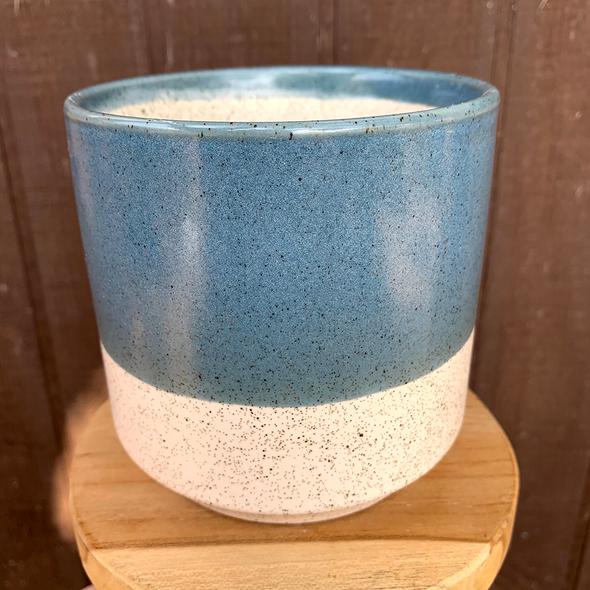 Blue Color Dip Planter [Medium}