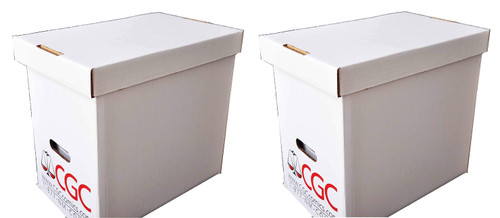 2 E.Gerber Authorized CGC Comic Book Boxes