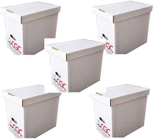 5 E.Gerber Authorized CGC Comic Book Boxes