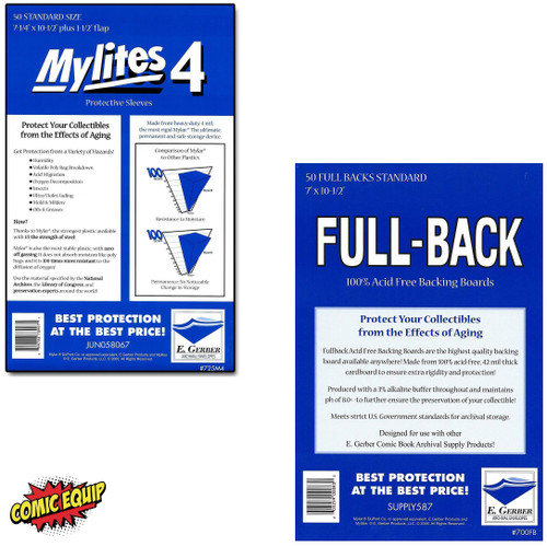50 - MYLITES 4 STANDARD & 50 - FULL-BACK STANDARD Boards