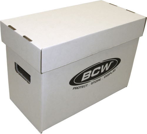 1 BCW Short Comic Book Storage Box
