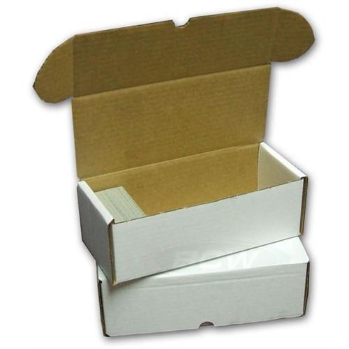 BCW 500 Count Card Storage Box