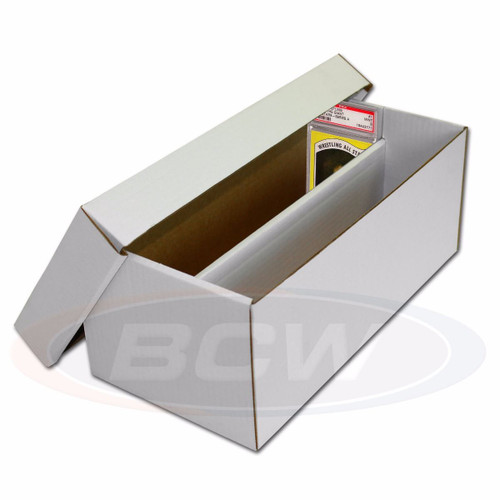 BCW Graded Shoe Box Holds