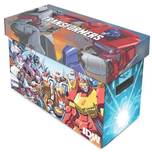 BCW Short Comic Box Transformers Art