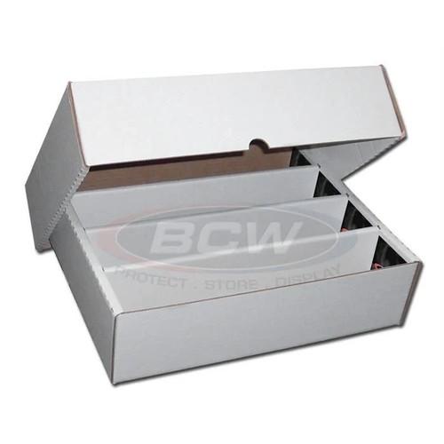 BCW 3200 Count Storage Box  (Full Lid.)