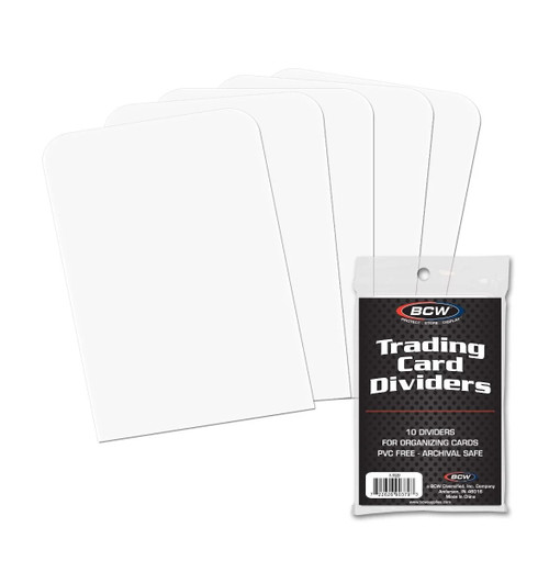 BCW Trading Card Dividers