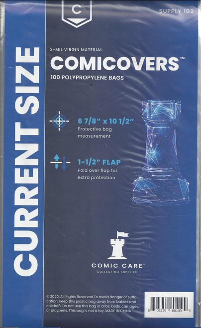 Comic Care Current Comic Polypropylene Bags